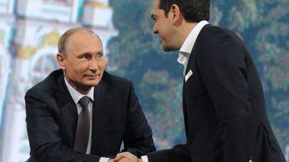 Live - Russen willen Grieken helpende hand reiken