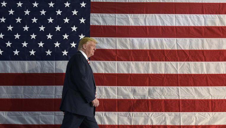 De 45ste president van de Verenigde Staten van Amerika: Donald Trump. Beeld afp