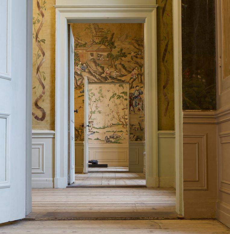 Interieur Oud Amelisweerd. Beeld MOA / Ernst Moritz