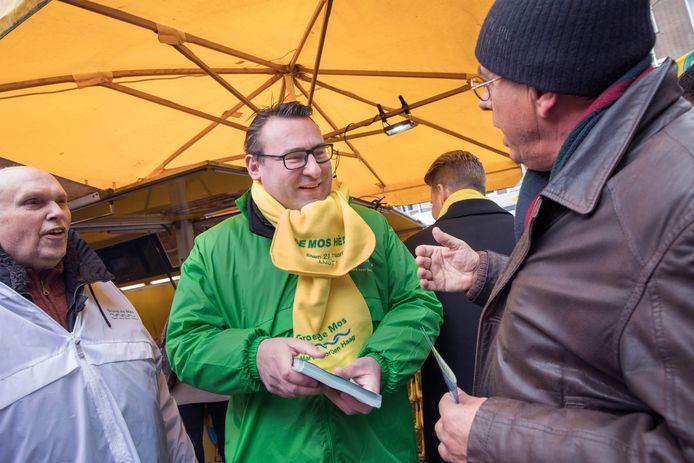 Mee op campagne met de Groep de Mos en Richard de Mos.(Den Haag 07-03-18) Foto:Frank Jansen