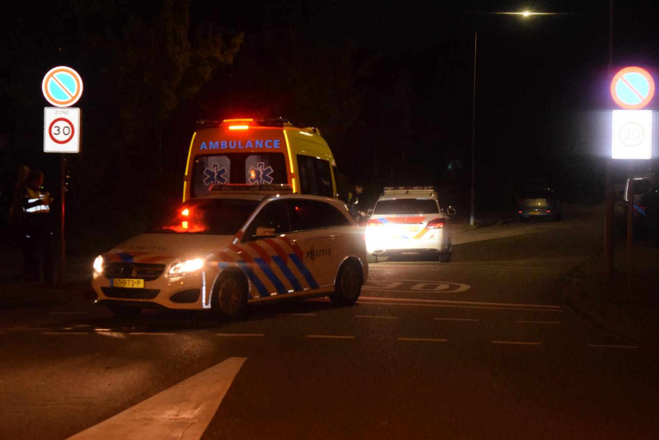 Het park in Doetinchem is helemaal afgezet door de politie.