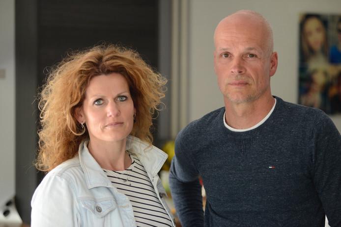 Moniek Hanssen en Erik Derijks uit Heesch verloren hun 2-jarige dochter Ize toen zij werd aangereden.