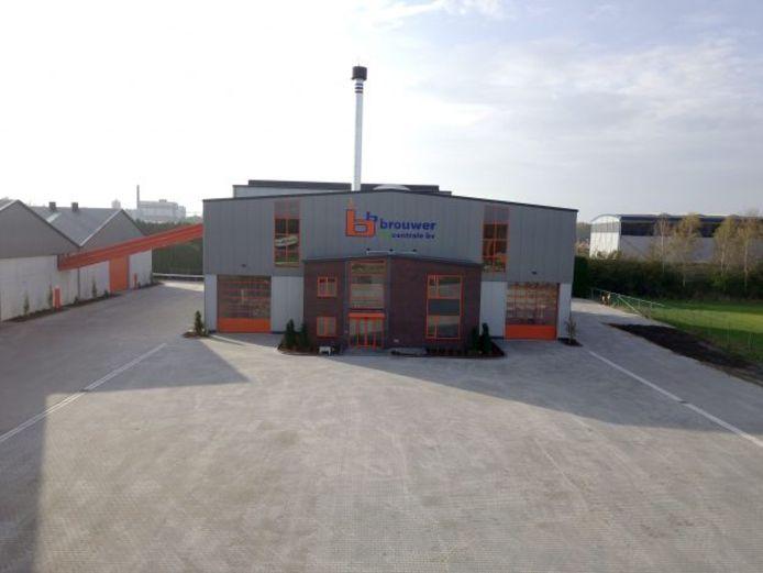 Een biomassacentrale  in Balkbrug