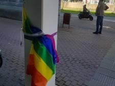 Weer regenboogvlaggen bespuugd: 'Dit is de grootste vorm van minachting'