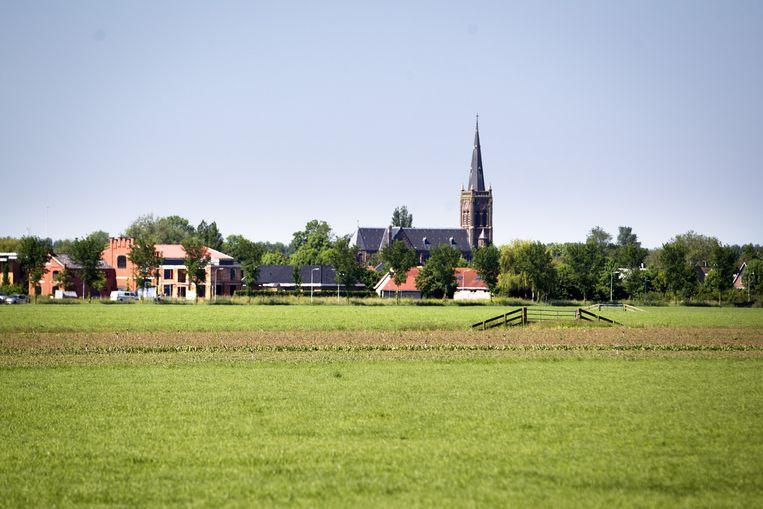 De rooms-katholieke Sint-Victorkerk in Obdam. Beeld anp