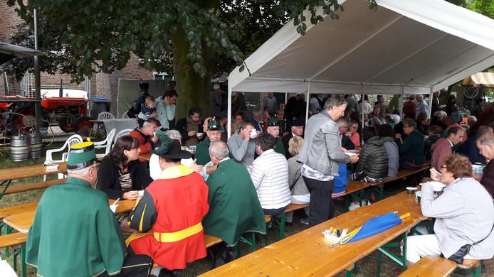 Eten en drinken op Niftrik Cultureel.