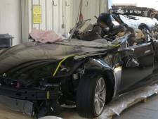 Tesla slaat op hol: één lichtgewonde