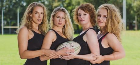 Deventer rugbydames doen kleren uit voor sexy kalender: 'We zijn niet alleen hoekig en stevig'