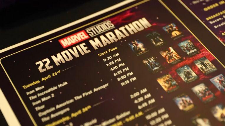 Twee dagen lang alle 22 Marvel-films bekijken