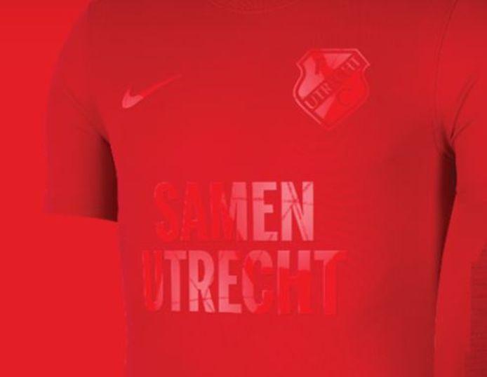 FC Utrecht komt met een speciaal fanshirt.