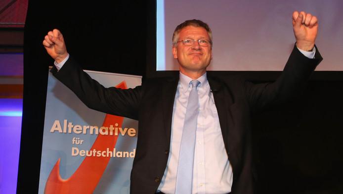 Joerg Meuthen se félicite de la percée de son parti (AFD), aux régionales allemandes.