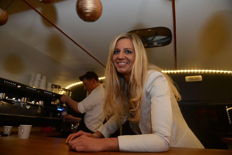 Tijdens de nacht van Gwenny & co werd de'Kampenhoutse koffie' voorgesteld, een mix tussen koffie en gin.