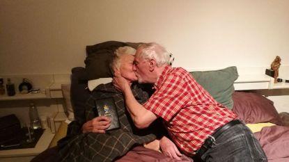 Getrouwd op haar sterfbed: ze kon niet gelukkiger vertrekken