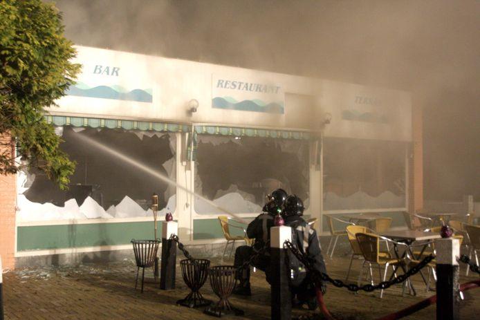 Het hotel komt op de plek waar het in 2009 in brand gevlogen restaurant De Nieuwedam zat.