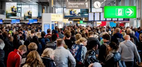Let op: op déze dagen is het superdruk op Schiphol