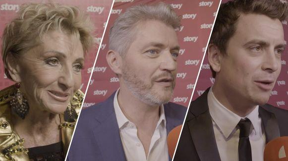Martine Jonckheere, Kürt Rogiers en Niels Destadsbader geven hun mening over 'Dancing with the Stars'.