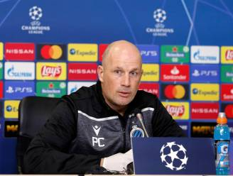 KIJK LIVE. Club-coach Philippe Clement spreekt pers toe daags voor CL-treffen met Lazio
