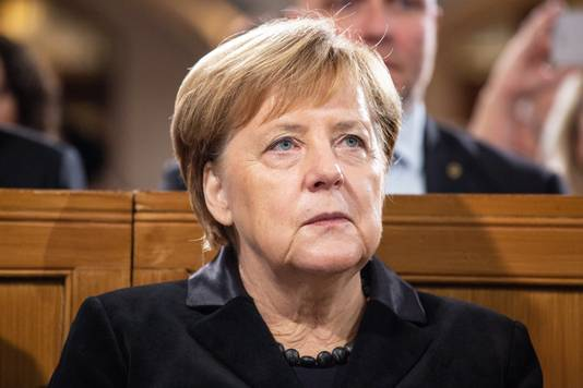 Angela Merkel waarschuwt voor toenemende Jodenhaat in haar land