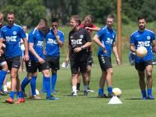 Fans De Graafschap krijgen 'koortscheck' bij eerste training