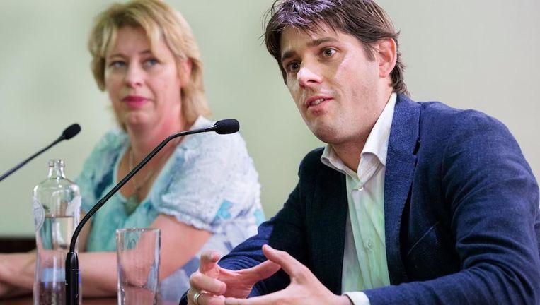 Arjan Vliegenthart geeft nu al een 'winstwaarschuwing' af Beeld ANP