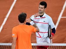 Carreño Busta vindt Djokovic onsportief: 'Elke keer als hij in de problemen is, doet hij dit'