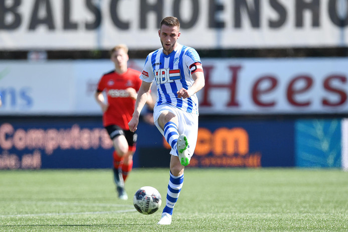 Branco van den Boomen van FC Eindhoven baalt van het derbyverlies en verwacht geen deelname aan de play-offs.