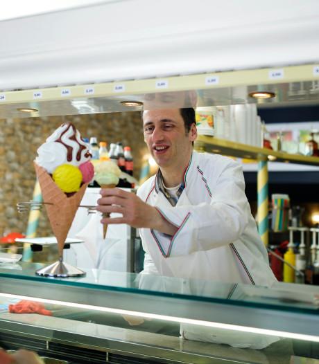 Honderd uur per week is Giovanni Olivo 's zomers ijsmaker, aan Hello Kitty-ijs doet hij niet