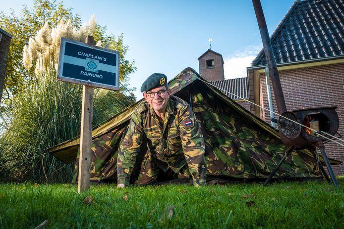 Legerpredikant Mark Boersma uit Wapenveld gaat na twintig jaar met militair pensioen. Hij heeft een plan voor een bierbrouwerij voor militairen met PTSS.