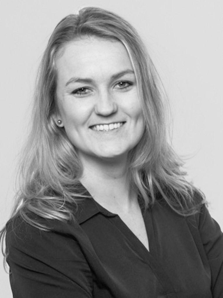 Paula Schot, lijsttrekker SGP Amsterdam. Beeld -