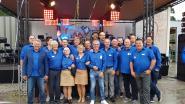 """Bouwmaterialen Mattheeussen trakteert personeel en klanten op feest voor gouden jubileum: """"Begonnen in de garage van onze ouders"""""""