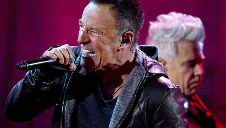 Bruce Springsteen in 2014. Beeld null