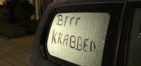 Code geel: mogelijk glad op de weg na eerste nacht vorst in Brabant