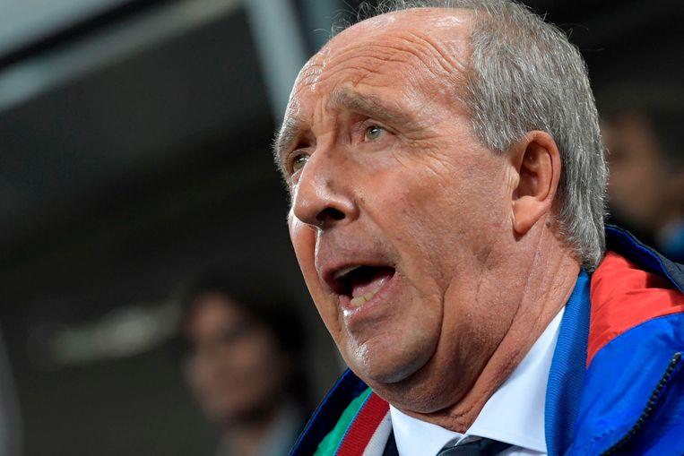 Vertwijfeling bij de Italiaanse bondscoach Giampiero Ventura