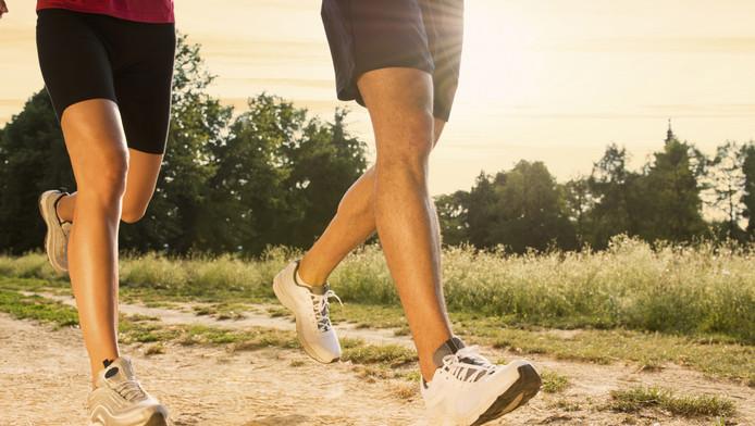 Hardlopen zou meer effect hebben dan skaten of zwemmen.