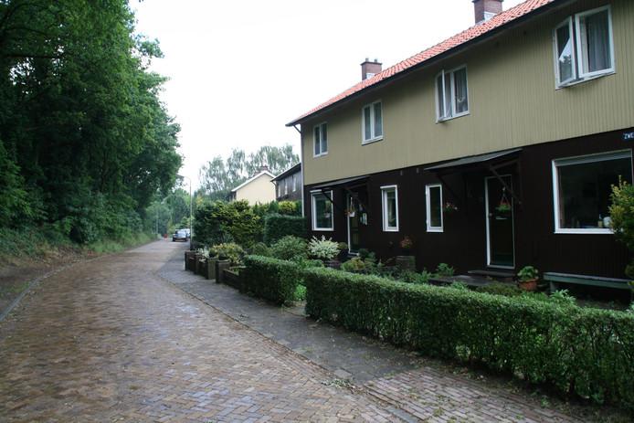 De Zweedsestraat circa tien jaar geleden.