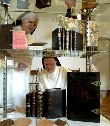 Oud-priorin van Sint Catharinadal (96) overleden, zij introduceerde de computer in het klooster
