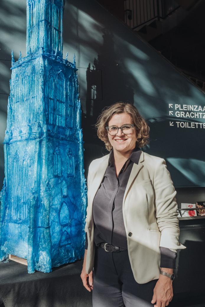 Friederike Weisner, directrice van De Lieve Vrouw, meent dat haar theater over tien jaar niet meer op de huidige plek zit. ,,Dan willen we nog steeds relevant zijn met een programma dat past bij wat de stad Amersfoort dan is.'
