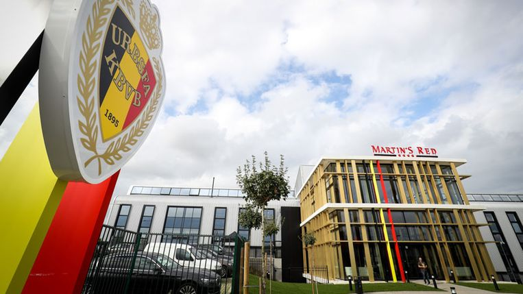 Het Belgian Football Centre in Tubeke.