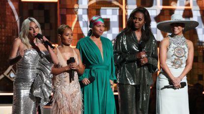Een verrassing van Michelle Obama en drama op Twitter: dit waren de Grammy's