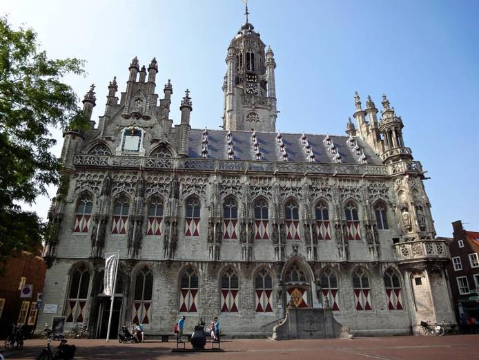 Het oude stadhuis van Middelburg