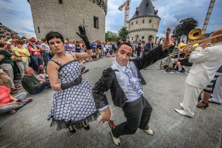 Dansen op de Broelkaai