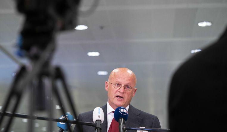 Minister Ferd Grapperhaus moet zich vanmiddag verantwoorden in de Tweede Kamer.  Beeld ANP