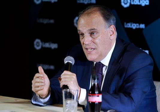 La Liga-baas Javier Tebas.
