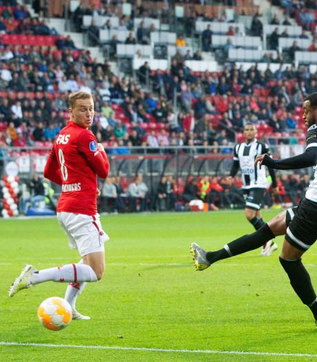 De vierde plek is uit zicht voor Heracles; nog twee duels te gaan voor plek in de play-offs