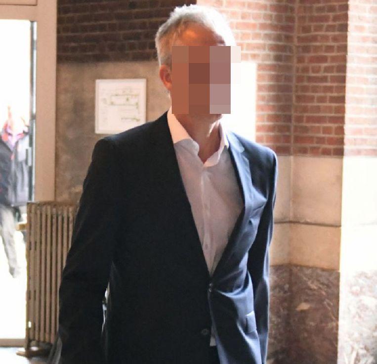 Ozondokter Chris M. in de rechtbank.