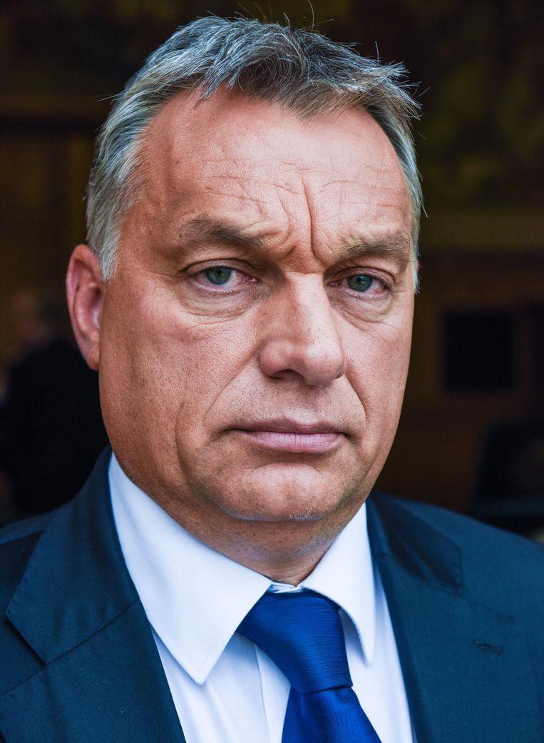Victor Orbán, premier van Hongarije sinds 2010 (en van 1998 tot 2002). Liet wegens vluchtelingen een hek bouwen langs de Servische grens. Beeld Hollandse Hoogte