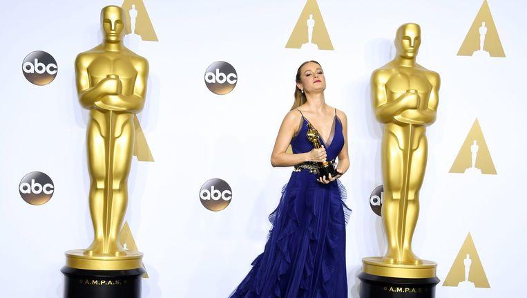 Brie Larson won vorig jaar de Oscar voor beste vrouwelijke hoofdrol. Ook zij werd toegevoegd aan de Academy. Beeld anp