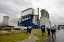 Een biomassacentrale in Moerdijk