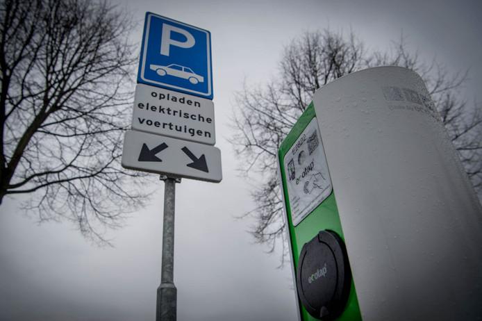 Oplaadpunt voor elektrische auto's van Ecotap.