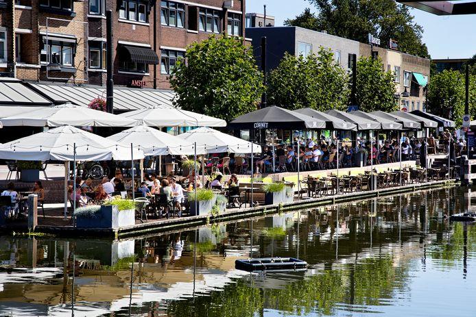 Het Havenplein in Helmond.